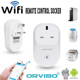 *Local Seller* Orvibo Smart Wifi Socket *Remote Control On/Off and Timer by Smart Phone
