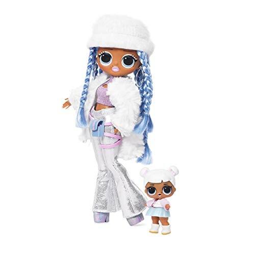 [S$109.00]💖$1 Shop Coupon💖  L.O.L. SurP.R.Ise! O.M.G. Winter Disco Snowlicious Fashion Doll  Sister
