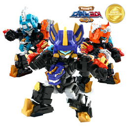 [TUBAn] MINI DINO CORE D-SAVER Kerato Transformation robot / KOREAN ANIMATION / KIDS BSET.1