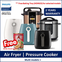 Philips HD9216 | HD9218 | HD9723 | HD2139 | HD2137 Air Fryer/Pressure Cooker Collection