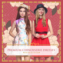 Mugigae ♥ Premium Chinoiserie Cheongsam Dress ♥ XS to XL ♥