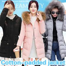 2017 Cotton-padded Jacket / Women Dust coat / Fur Jacket / Overcoat / Vest / Outerwear / Winter coat