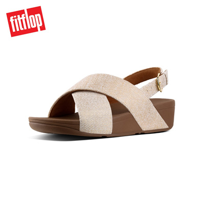 051ca94bf0bf7c Qoo10 - Fitflop™ Lulu Mirage Back-Strap Sandals Urban Whit   Shoes
