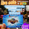 Universal Studio Singapore Ticket USS One day Pass E-Ticket 新加坡环球影城电子票