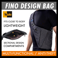 SG SELLER Free Shipping! Fino design Bag/ Multi-Functional Business Shoulder Bag/Anti Theft