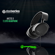 STEELSERIES ARCTIS 3 BLACK 7.1 DTS HEADPHONE - 2019 EDITION