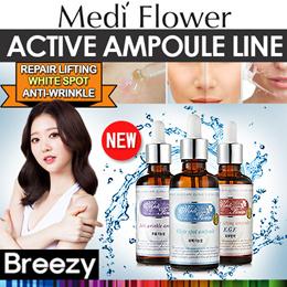 BREEZY ★ [Medi Flower] ★★ New item★ 기능성앰플 E.G.F Repair Lifting Ampoule / White Spot Ampoule / Anti-W