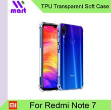 TPU Transparent Shockproof Soft Case for Xiaomi Redmi Note 7