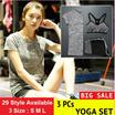 ( 3 pieces/set ) 5 colors Sports Yoga Set / 2016 women Professional High Quality Yoga Sports Suit Clothes