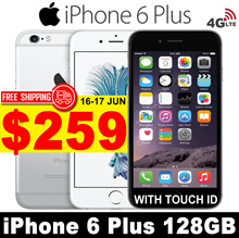 (MAKE $259) iPhone 6 Plus 128GB | 5.5 inches | All Good Working |99% New| Unlocked | Refurbished set