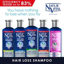 NATURVITAL Hairloss Shampoo | NEW IN - Hairloss Shampoo FOR MEN! | Sensitive Shampoo | Henna Shampoo