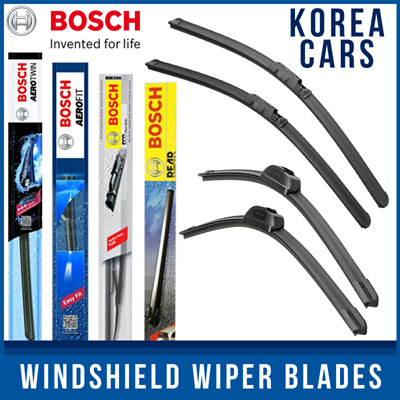 Aerzetix Set of 2 Front Windscreen Wiper Blades 22,16