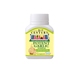 [21st Century] Potent Garlic 20000 mg (50s)