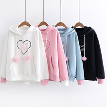 Sweater Wanita // Jaket Hoodie // Dear Lovers Sweater