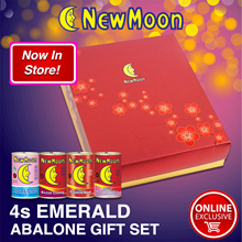 RESTOCK! NEW MOON 4s Emerald Giftset (NZ Abalone + RC + Fishmaw Soup + KTS)