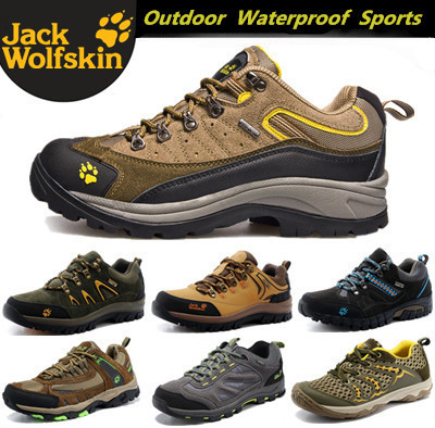 91b25f275efd Jack Wolfskin Men Women Sneakers Shoes Outdoor Waterproof Cross Country  Trail Sport