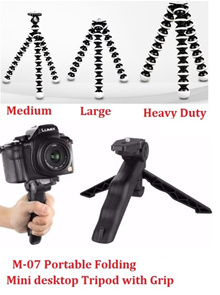 For Camera Flexible Tripod / GorillaPod / Spiderpod / Folding Grip