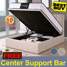 Storage Bed Frame  * Free Upgrade Centre Support Bar  * Color Choices * Add on Mattress