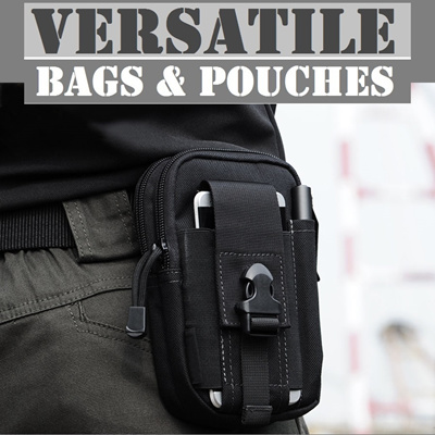 9e3aed7b681 Tactical Waist Pouch Backpack Sling Bag Messenger Chest Packs Camping  Hiking Bags Travel Bags