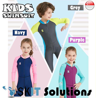 d060699717079 KIDS Swimsuit LS-18821 Long Sleeve Swimming Costume Wear Suit Swim Clothes  for boy and