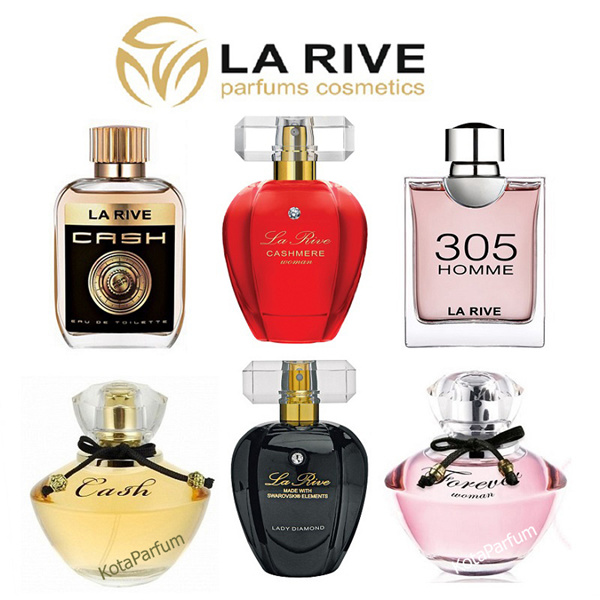 Parfum Original LA RIVE for Men and Women Deals for only Rp140.000 instead of Rp140.000