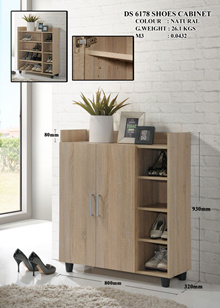 **GREAT SALES FOR NEW ARRIVAL SHOE CABINET** SKL6178 2+1 SHOE CABINET