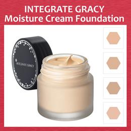 Shiseido Integrate Gracy Moist Cream Foundation 25g SPF22 PA++ 4 Color!