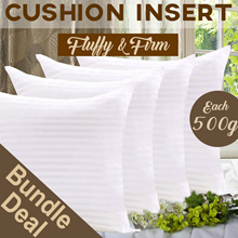 【BUNDLE DEAL】■ HIGH QUALITY CUSHION INSERT ■ CHRISTMAS GIFT IDEA ■ THROW PILLOW ■ SQUARE CUSHIONS