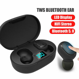 HBQ Q32/Q67/T2C/A6 TWS Bluetooth 5.0 Earphones Wireless Earbuds Sports  Headset With Charging Box
