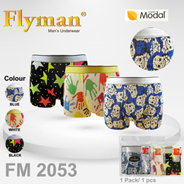 Flyman Man Brief Striped Celana Dalam Underwearfm 3105 Multicolor Source · FlyMan Boxer Carnaval Print 1 Pack 1 Pcs FM 2053 Multi Colour
