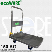 PVC/ METAL PLATFORM FOLDABLE TROLLEY 150 KG (Heavy Duty)