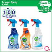 [RB Health] BUNDLE OF 2l Dettol Trigger Spray Series 500ml