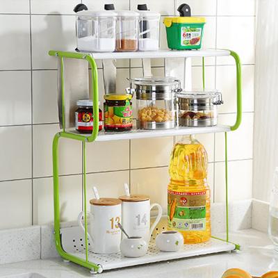 Merveilleux [Mega Sale]☆Cruet Stand☆standing Kitchen Shelf/ Seasoning  Storage/kitchenware