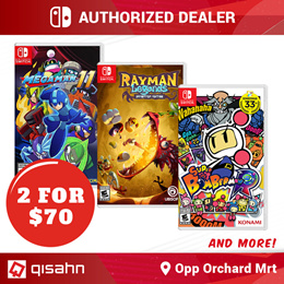 Buy 1 Get 1 Free Switch Games // Choose any 2 for S$69.90