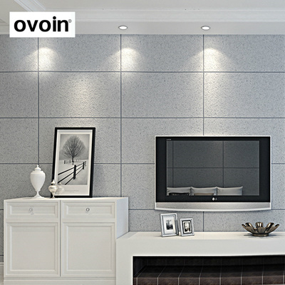 White Grey Beige Embossed Faux Natural 3d Stone Wallpaper Brick Large Tile Lattice Wall Paper Roll