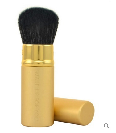 【Best quality】Retractable blush brush makeup brush makeup powder foundation brush loose paint portab