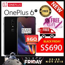 [GROUPBUY] [FREE GIFTS] Oneplus 6T 256GB 128GB ROM 8GB 6GB RAM Local Seller 6 Mths Warranty