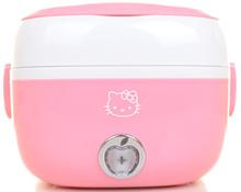 Portable Electric Lunch Box Egg Boiler Steamer Mini Rice Cooker