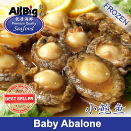 [All Big]Baby Abalone(300G)(10-11Pcs)(Frozen)