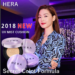 ★HERA★2018 NEW UV Mist Cushion / ULTRA MOISTURE Cushion / Black Cushion/TTBEAUTY