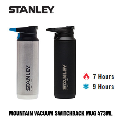 Stanley PMI[Stanley] Switchback Vacuum Mug 16oz 473ml Bottle Keep Hot Cold  Insulated Thermal Thermos Leakproo