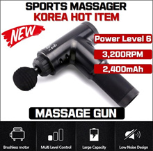 Muscle Massage Gun Sport Therapy Massager Body Relaxation Pain Relief Slimming Shaping Massager