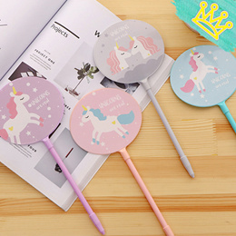 UNICORN FAN PENS STATIONERY GOODIE BAG CHRISTMAS GIFTS CHILDREN DAY TEACHER DAY