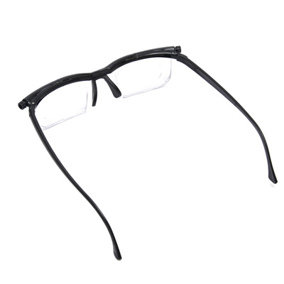 ade2708a6f online Vision Focus Adjustable Reading Glasses Myopia Eyeglasses -6D to +3D  Diopters Correction Bino