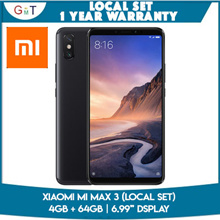 [Local Set] Xiaomi Mi Max 3 // 4GB + 64GB // 6.99in display // Local set 1 year warranty