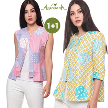 1 + 1 Agrapana Ladies Batik Top Collection - Flat Price - Special Best Price