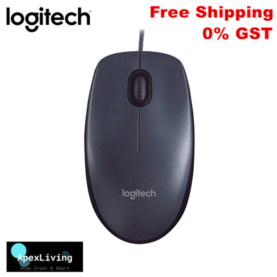 67a43aea40f Qoo10 - Logitech M90 USB Wired Optical Mouse : Computer & Game