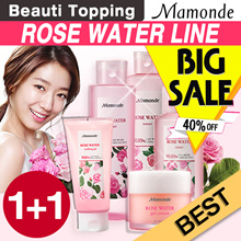 Qoo10 LOWEST PRICE! 1-DAY SUPER SALE★1+1★[Mamonde] Rose Water Toner / Soothing Gel / Gel Cream