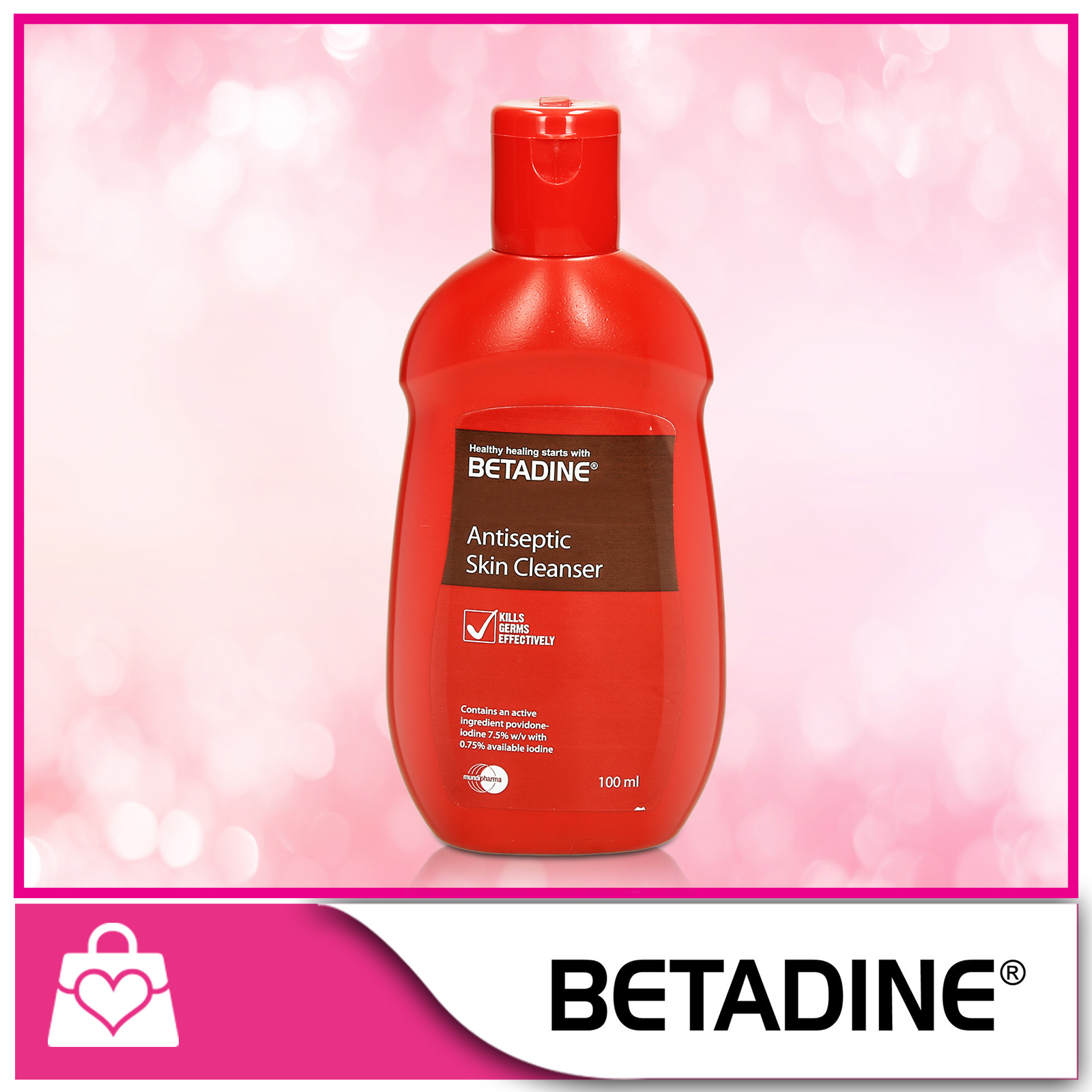 Qoo10 Betadine Antiseptic Skin Cleanser 100ml Household Bedding 5 Ml Fit To Viewer