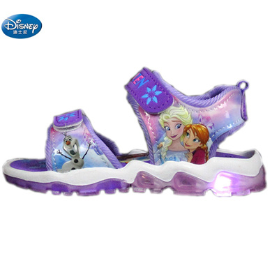 4b9325b8e3 Frozen girls sandals with LED light 2109 elsa and Anna princess kids shoes  kitty